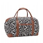 Printed Canvas Holdall
