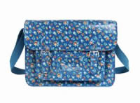 Vintage Floral Fashion Satchel